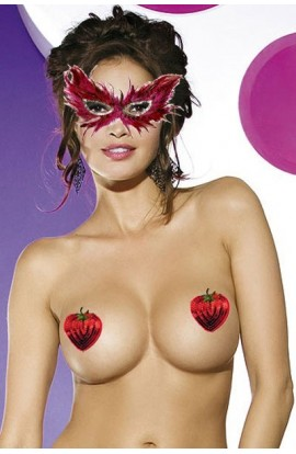 Nipple covers rosii model capsuni