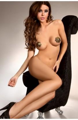 Nipple covers aurii model scoica