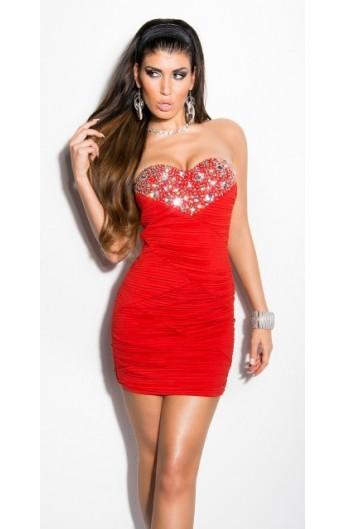 Rochie Miss Red