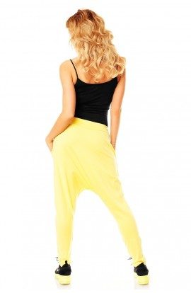 Pantalon fashion galben light