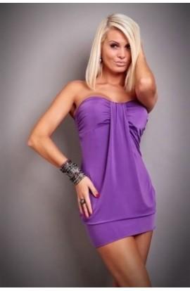 Rochie Sexy de Club cu Falduri