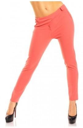 Pantaloni Dama Elastici Corai