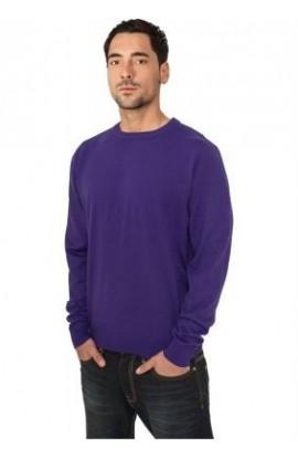 Pulover tricotat purple