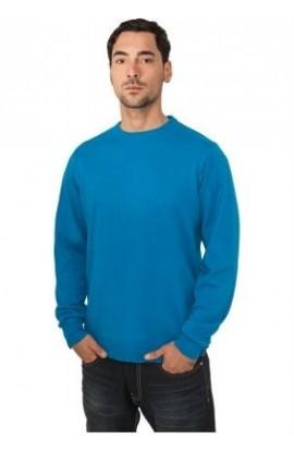 Bluza tricotata barbati turquoise