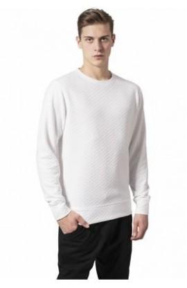 Bluza matlasata cu guler rotund