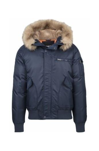 Jacheta cu gluga Heavy Fake Fur