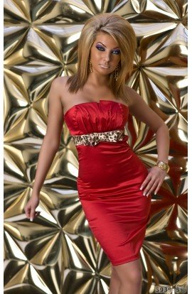 Rochie Bodycon Eleganta cu Aspect Lucios