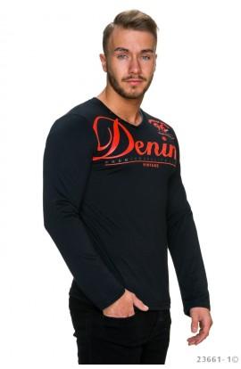 Bluza neagra barbati inscriptionata
