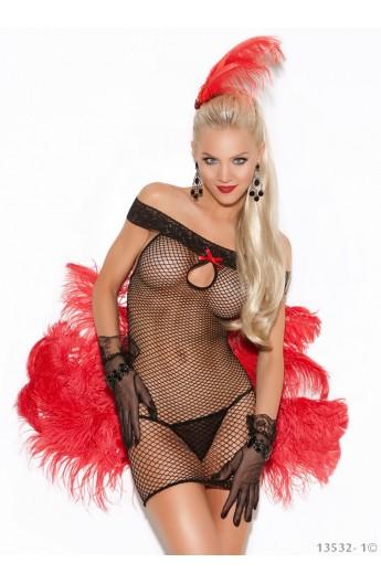 Lenjerie Sexy de Dama din Plasa