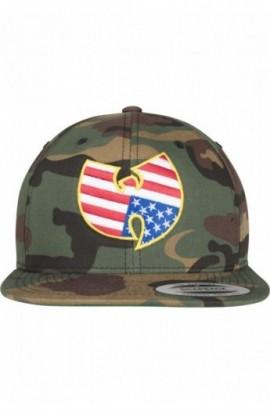 Wu-Wear American Camo Snapback camuflaj
