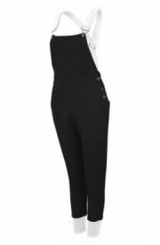 Salopeta sport femei cu imprimeu urban negru-alb M