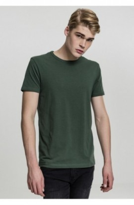 Fitted Stretch Tee verde M
