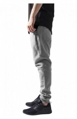 Pantaloni trening conici gri-negru M