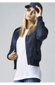 Geaca bomber primavara femei bleumarin XL
