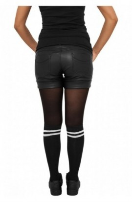 Sosete pana la genunchi femei negru-alb 36-39