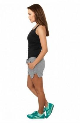 Pantaloni scurti sala femei gri M