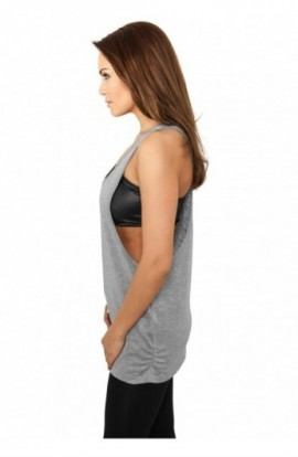 Maiouri fitness largi femei argintiu S