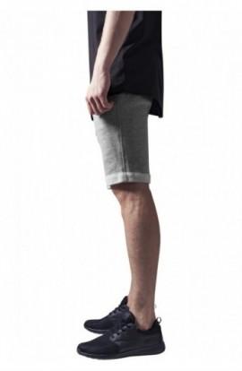 Pantaloni scurti sala gri M
