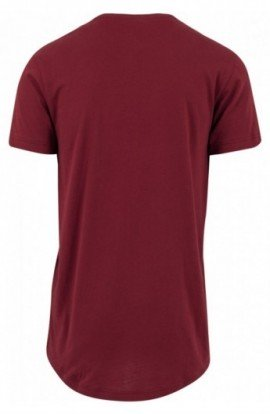 Tricouri hip hop lungi rosu burgundy 2XL