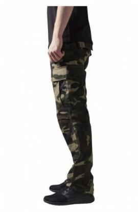Pantaloni camuflaj barbati wood-camuflaj 40