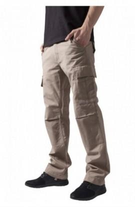 Pantaloni camuflaj barbati bej 32