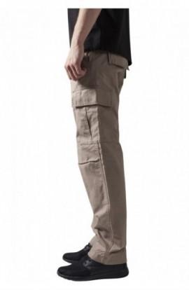 Pantaloni camuflaj barbati bej 40