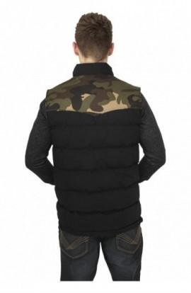 Veste barbati camuflaj camuflaj-negru XL