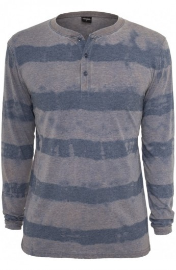 Bluze barbati fantasy cu maneca lunga albastru denim M