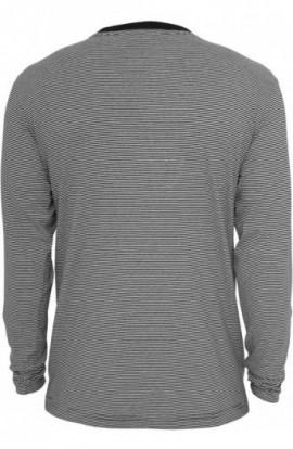 Bluze cu maneca lunga cu dungi negru-alb M