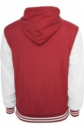 Geci de primavara sport rubin-alb 2XL