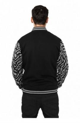 Geci colegiu barbati model zebra gri-negru M