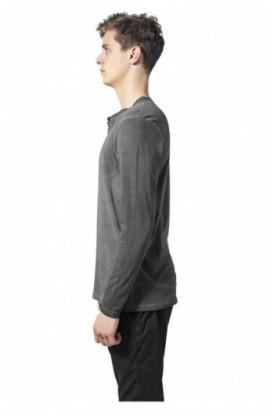 Bluza barbati aspect prespalat gri inchis S