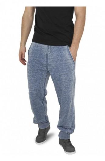 Pantaloni de trening cu elastic jos albastru denim XL