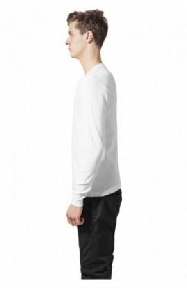 Bluze slim barbati alb M