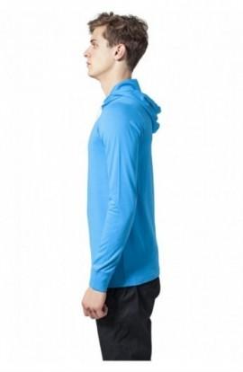 Hanorac urban jersey turcoaz L