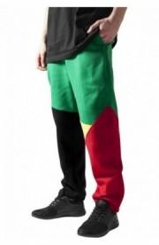 Pantalon trening zig zag negru-rasta S