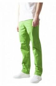 Pantaloni chino barbati verde lime 38