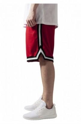 Pantalon hip hop cu dungi rosu&negru&alb M
