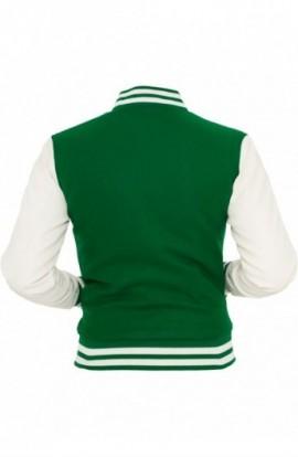 Geci colegiu america femei verde-alb XS