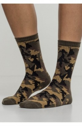 Camo Socks 2-Pack wood-camuflaj 39-42