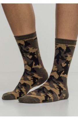Camo Socks 2-Pack wood-camuflaj 39-42