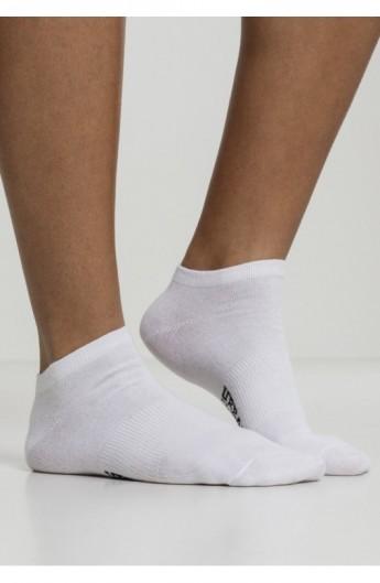 Logo No Show Socks 5-Pack alb 47-50