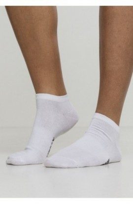 Logo No Show Socks 5-Pack alb 47-50
