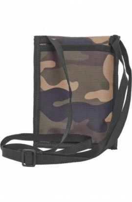 Neck Pouch Oxford wood-camuflaj