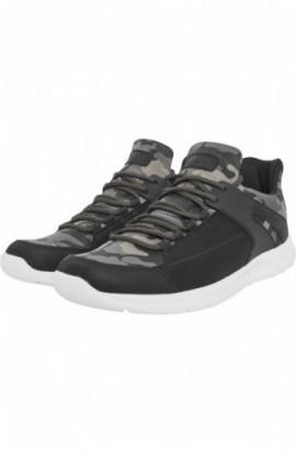 Trend Sneaker olivecamo-negru-alb 43