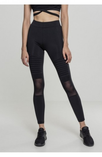 Ladies Tech Mesh Biker Leggings negru M