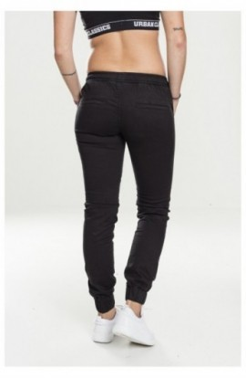Ladies Biker Jogging Pants negru S