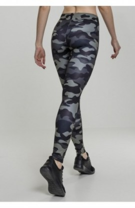 Ladies Camo Tech Mesh Leggings camuflaj-negru XS
