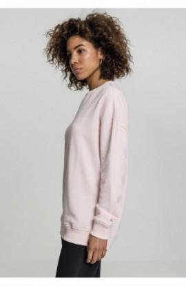 Ladies Oversize Crewneck roz XS
