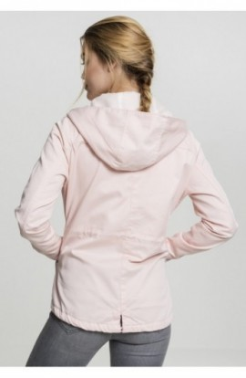 Ladies Basic Cotton Parka rose S